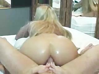 blond bubblebutt boner grinding