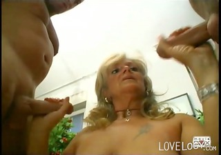 bush bangers kele mature threesome, blowjob