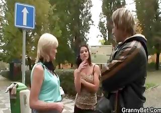 Student Dicking Mature Prostitute