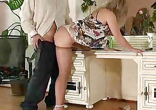 Hot MILF lingerie seduction