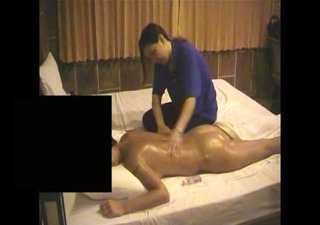 young pierced girlfriend gets erotic thai massage