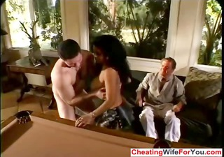 Brazilian cuckold wife