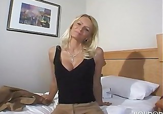 Hot Blonde Milf Toys and Orgasms